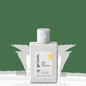 Bottle of Altruist face SPF50 sunscreen