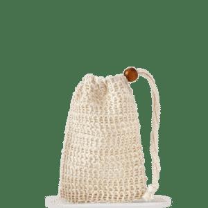 Sisal soap storage bag