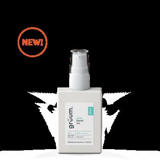 New bottle of glyde shave oil